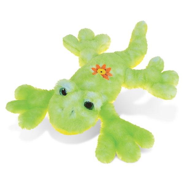 Puzzled Gecko 13.5-inch Super-soft Stuffed Plush Cuddly Animal Toy