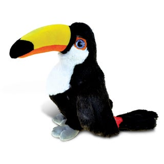 Puzzled Toucan 8-inch Plush Animal