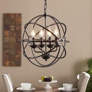 Harper Blvd Orlen 4-Light Fixed Globe Pendant Lamp