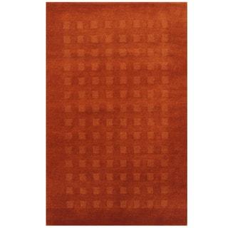 Herat Oriental Indo Hand-knotted Tibetan Wool Rug (3'8 x 5'8)