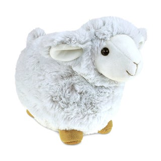 Puzzled Sheep 11.5-inch Super-soft Stuffed Plush Cuddly Animal Toy