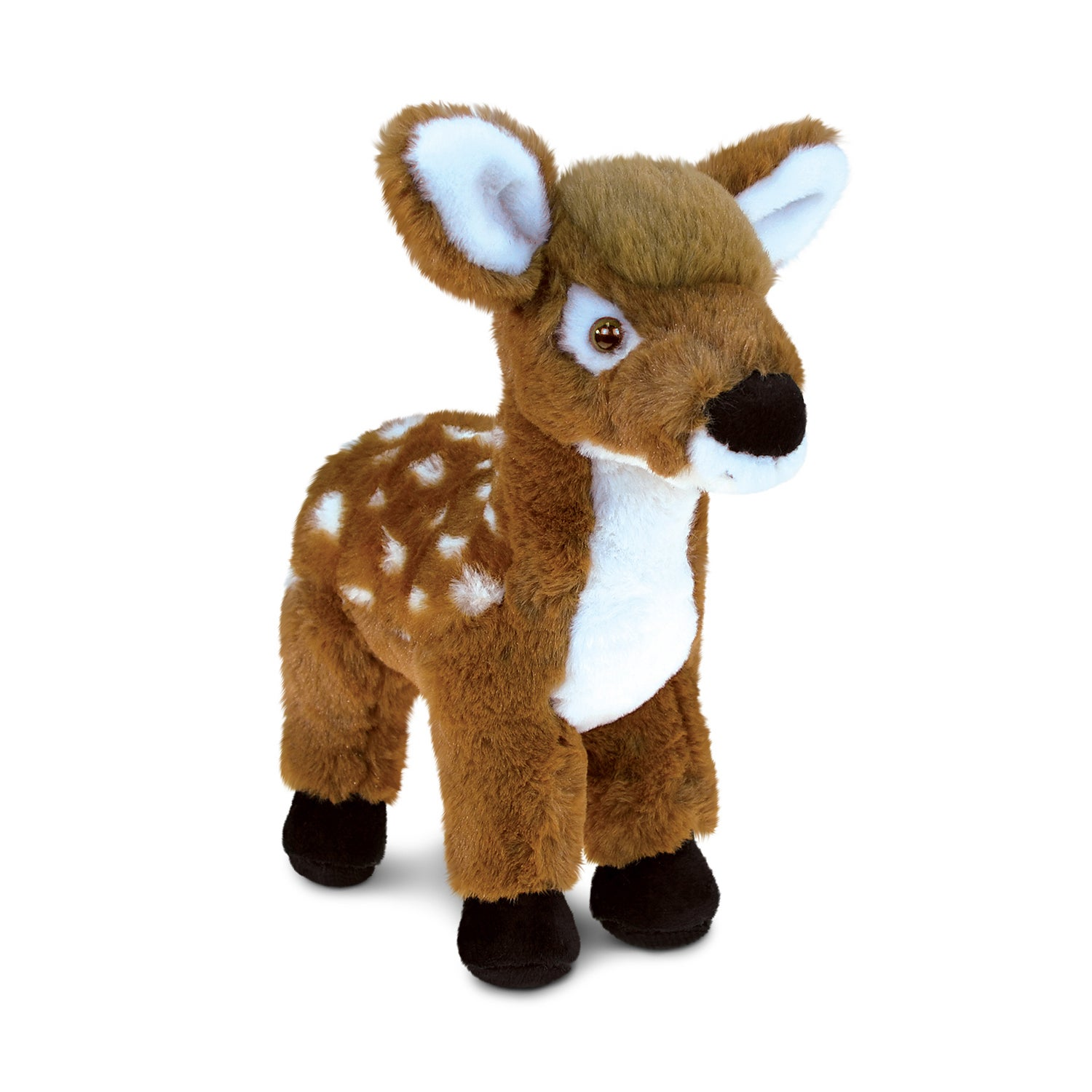 Puzzled Inc. Kids' Standing Deer 8-inch Large Super-soft ...