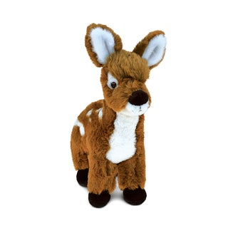 Puzzled Standing Deer Small Super Soft Plush 6-inch Stuffed Animal Toy