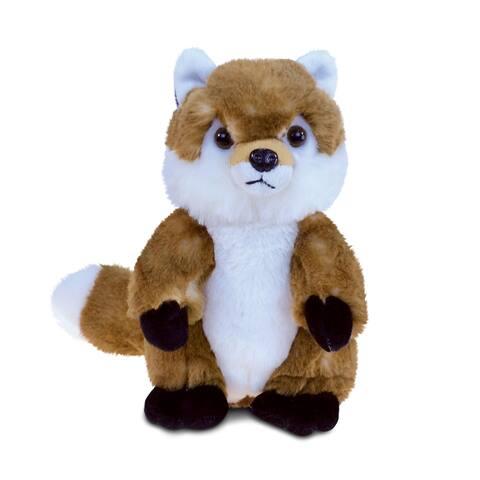 Puzzled Inc. Fox 9.5-inch Super-soft Stuffed Plush Cuddly Animal Toy
