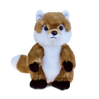 Link to Puzzled Inc. Fox 9.5-inch Super-soft Stuffed Plush Cuddly Animal Toy Similar Items in Stuffed Toys