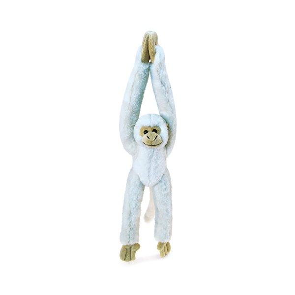872575dbf68 Puzzled Long Arm Hanging White Squirrel Monkey Super Soft Plush 21-inch Stuffed  Animal Toy