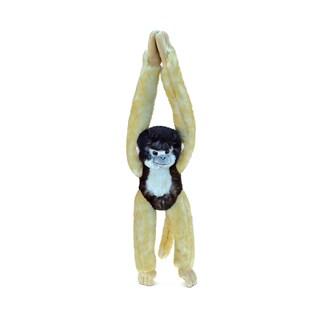 Puzzled Long Arm Hanging Squirrel Monkey Plush Animal