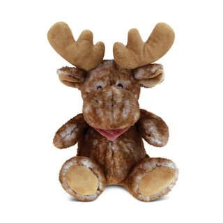 Link to Puzzled Brown Super Soft Plush Sitting Moose Similar Items in Stuffed Toys