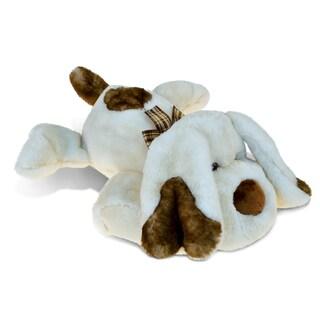 Puzzled Lying Dog Super-Soft 14-inch Stuffed Plush Cuddly Animal Toy
