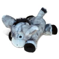 Puzzled Inc. Lying Grey Donkey Super-soft Plush Toy