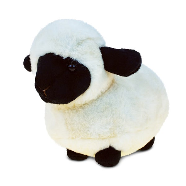 Puzzled Valsis Black-nose Sheep Super-soft Plush Toy
