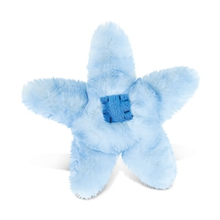 Puzzled Inc Blue Sea Star 6.5-inch Super-soft Stuffed Plush Cuddly Animal Toy