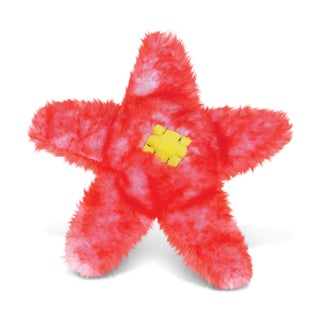 Puzzled Red Sea Star Super-Soft Stuffed Plush Cuddly Animal Toy