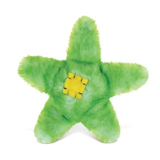 Puzzled Green 6.5-inch Sea Star Super-soft Stuffed Plush Cuddly Animal Toy