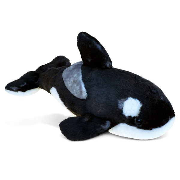 Puzzled Wild Killer Whale Large Super Soft-plush Toy