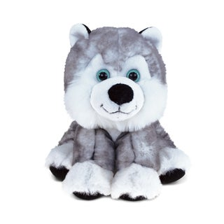 Puzzled 'Floppy Husky' Stuffed Plush Cuddler