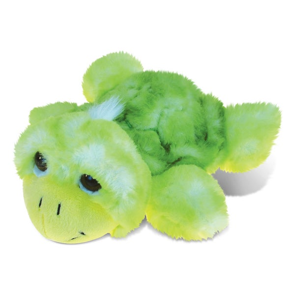 Puzzled Green Sea Turtle Small Super-soft Plush Toy