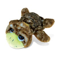 Brown Sea Turtle Large Super Soft Plush