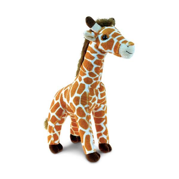 Shop Puzzled Super Soft Plush Wild Small Giraffe On Sale Free