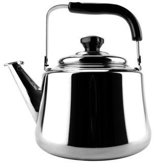 Stainless Steel Mirrored Finish 2.5-liter Tea Kettle