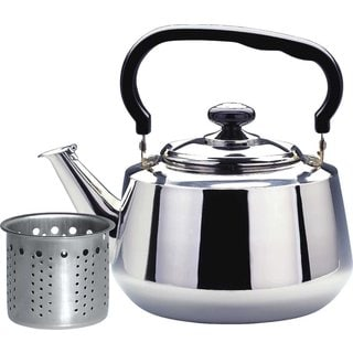 Stainless Steel 3-liter Tea Kettle With Strainer
