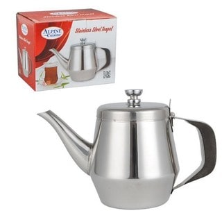 Alpine Cuisine Stainless Steel 0.9-liter Tea Pot
