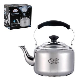 Stainless Steel 4-liter Whistling Tea Kettle