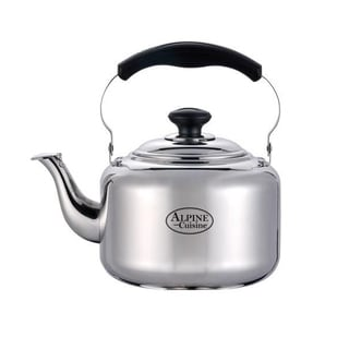 Alpine Cuisine Stainless Steel 3-liter Whistling Tea Kettle