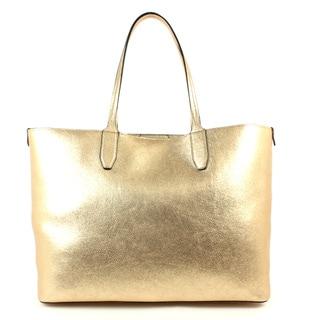Emilie M Loren PVC Light Large Double Shoulder Handbag