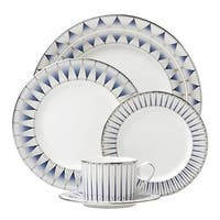 Lenox Geodesia Blue 5 Piece Place Setting