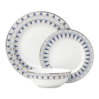 Lenox Geodesia Blue 3 Piece Place Setting