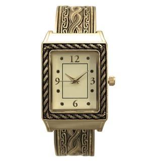 Olivia Pratt Stainless Steel 9-inch Bangle Watch