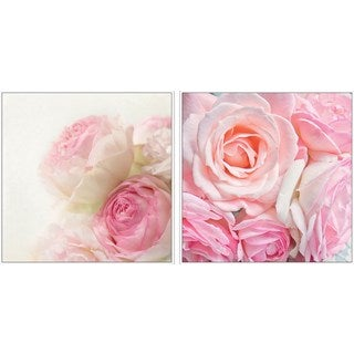 Rose Bunch Diptych - Multi-color