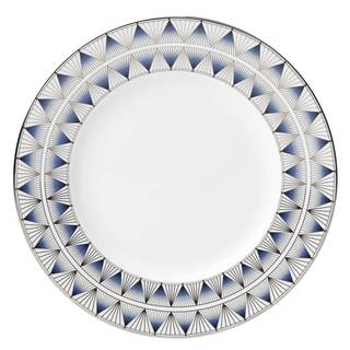 Lenox Geodesia Blue Dinner Plate