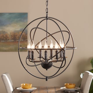 Harper Blvd Stilo 8-Light Atomic Globe Pendant Lamp