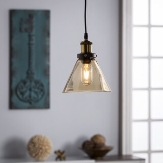 Harper Blvd Carimo Colored Glass Mini Pendant Lamp - Amber