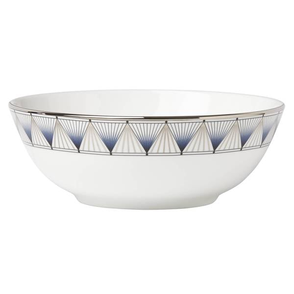 Lenox Geodesia Blue Place Setting Bowl