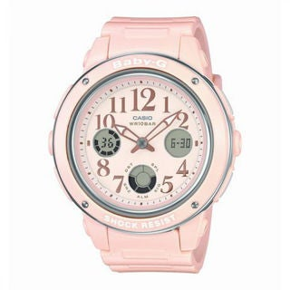 Casio Baby-G BGA150EF-4B Women's Pink Dial Watch