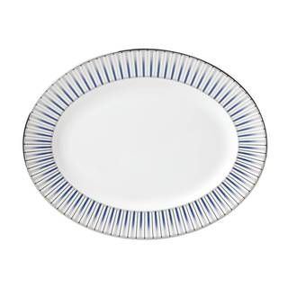 Lenox Geodesia Blue 13-inch Oval Platter