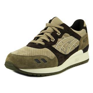 Asics Men's 'Gel-Lyte III' Brown/Tan Suede Athletic Shoes