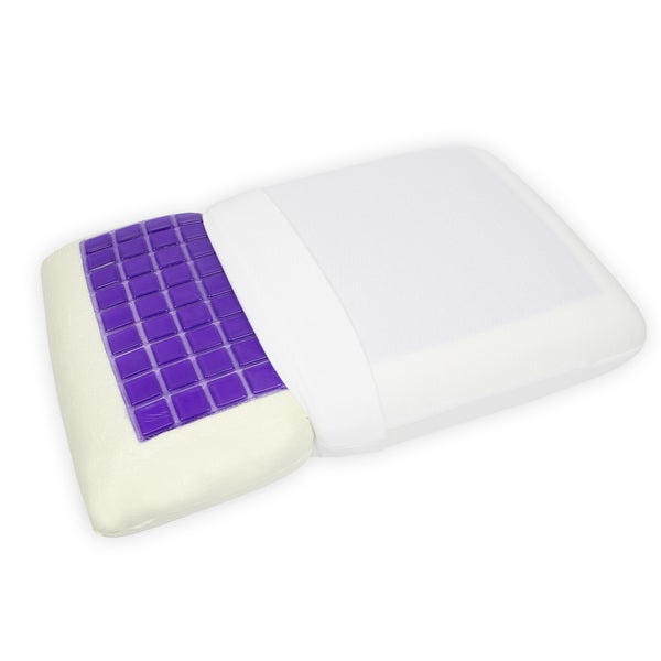 Signature Collection Gel Layer Memory Foam Pillow