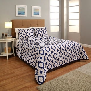 Constella Printed 3-piece Reversible Bedspread Sets