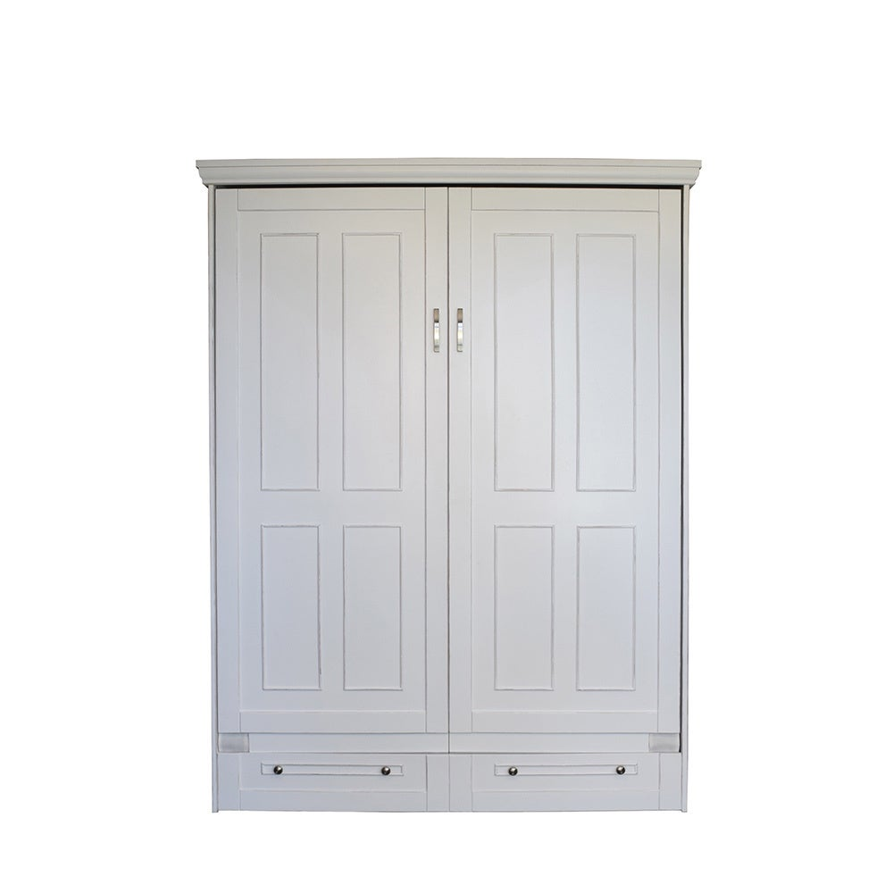 RoomAndLoft Queen Devonshire Antique White Queen-size Mur...