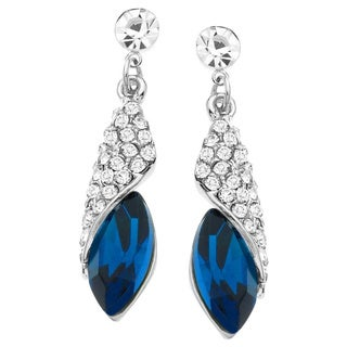 Wrap Around Sapphire Crystal Earring