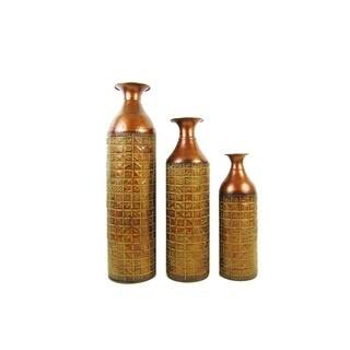FireFly Metal 17-/22-/27-inch 3-piece Vase Set