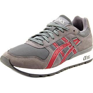 Asics Men's Gt-II Grey Faux-suede Athletic Shoes