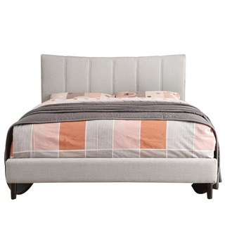 Channel Back Upholstered Bed