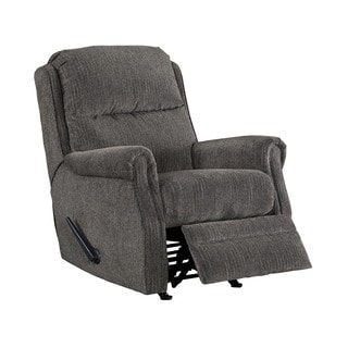 Signature Design by Ashley Earles Flannel Rocker Recliner