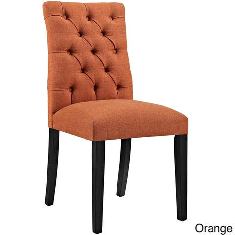 Copper Grove Quince Tufted Fabric Dining Chair