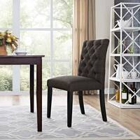 Laurel Creek Daulton Tufted Fabric Dining Chair